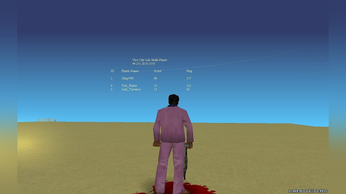 Multiplayer mod Vice City Life 0.1 beta RC2-8-5 for GTA Vice City