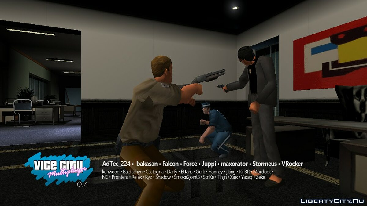 Multiplayer mod VC-MP 0.4 Public Beta for GTA Vice City