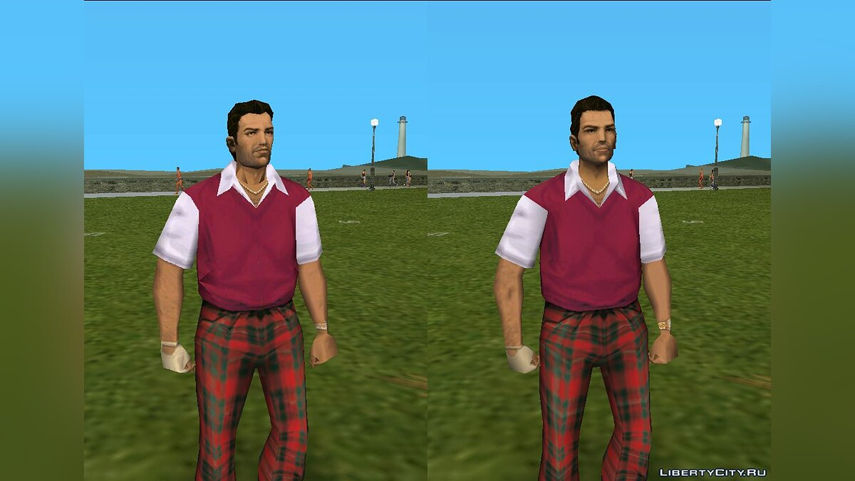 New character Improved Vercetti for GTA Vice City