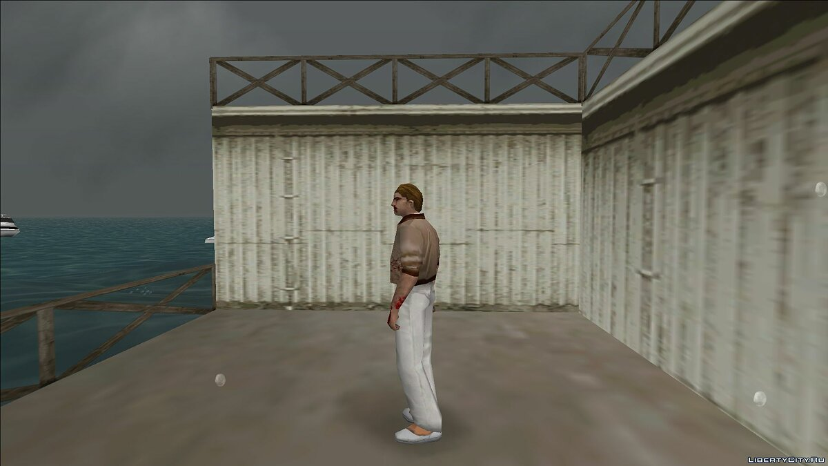 New character Zombie detective for GTA Vice City