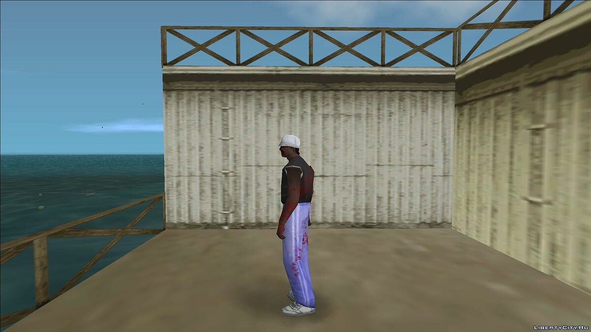 New character Zombie detective 4 for GTA Vice City