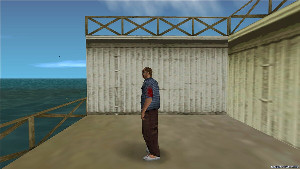 New character Zombie detective 5 for GTA Vice City