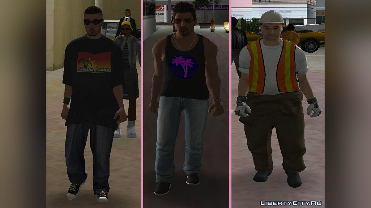 New character New Characters - Pack of Men # 3 for GTA Vice City