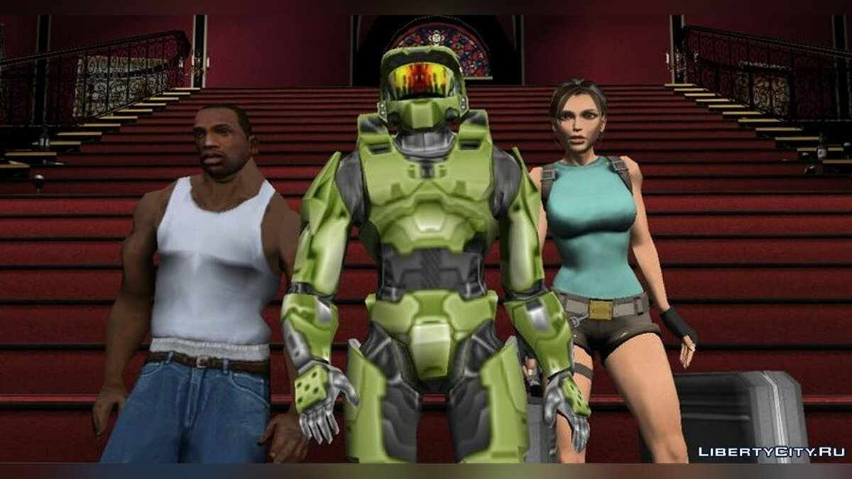 New character Master Chif from the game HALO for GTA Vice City