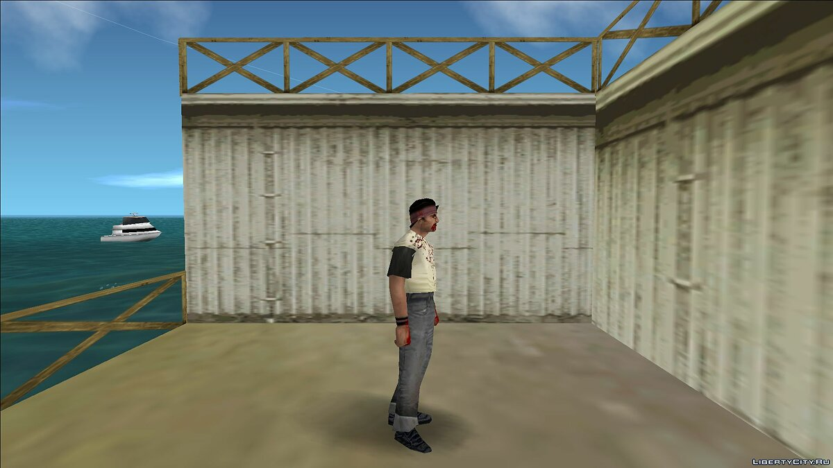 New character Zombie cuban for GTA Vice City