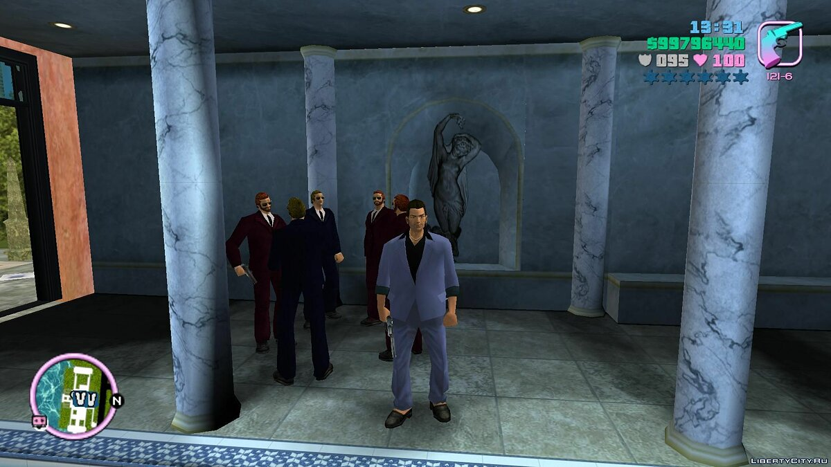 New character Vercetti's new people for GTA Vice City