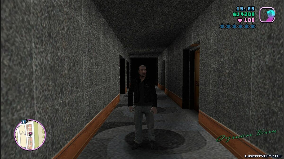 New character Johnny Klebitz clothes for GTA Vice City