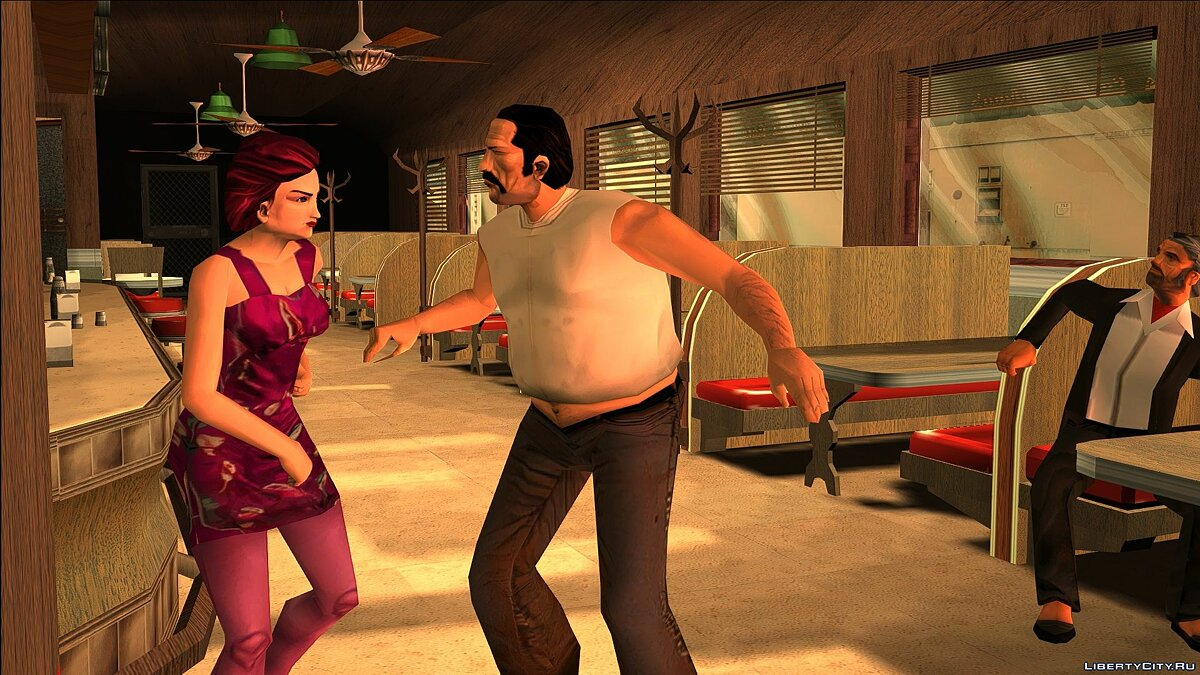 New character Play as Mercedes for GTA Vice City