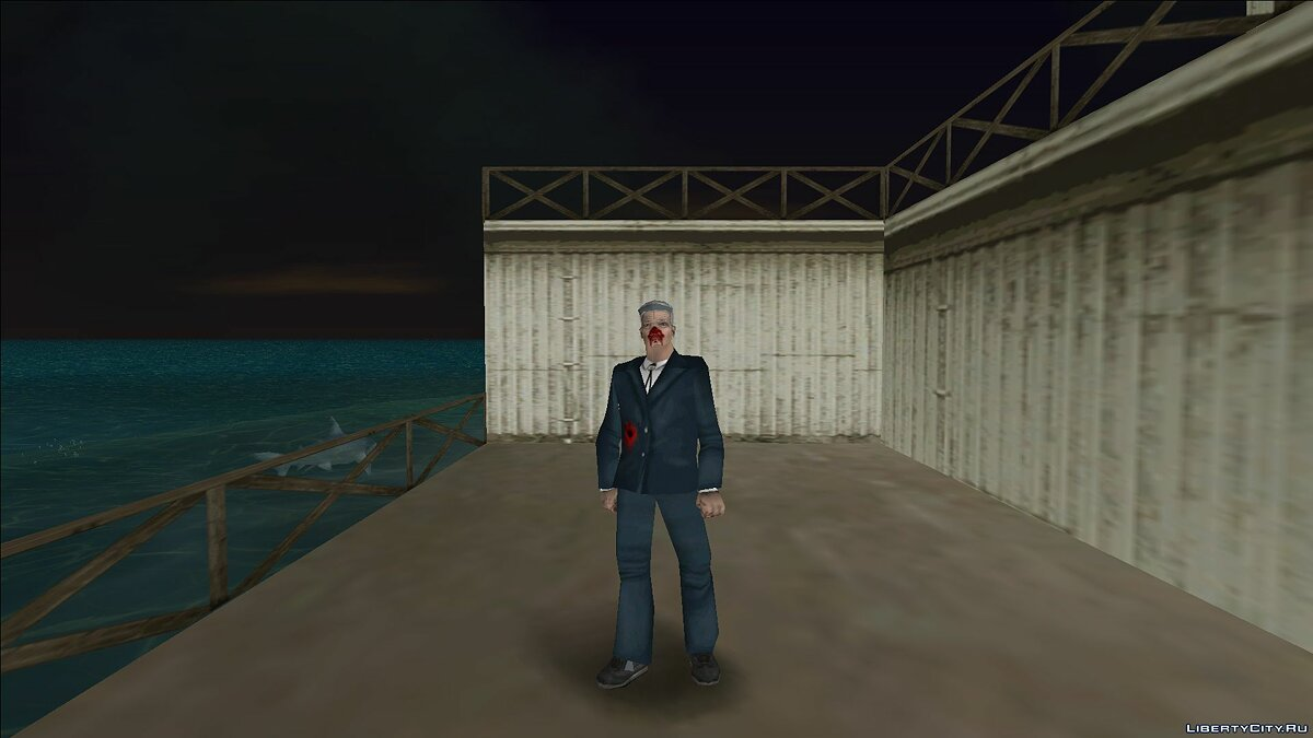New character Zombie oldman for GTA Vice City