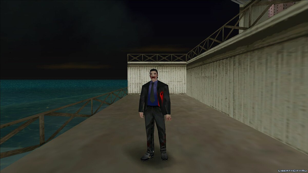 New character Zombie guard for GTA Vice City