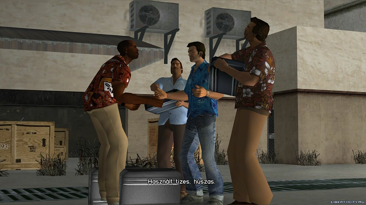 New character Fix by Victor Vance for GTA Vice City