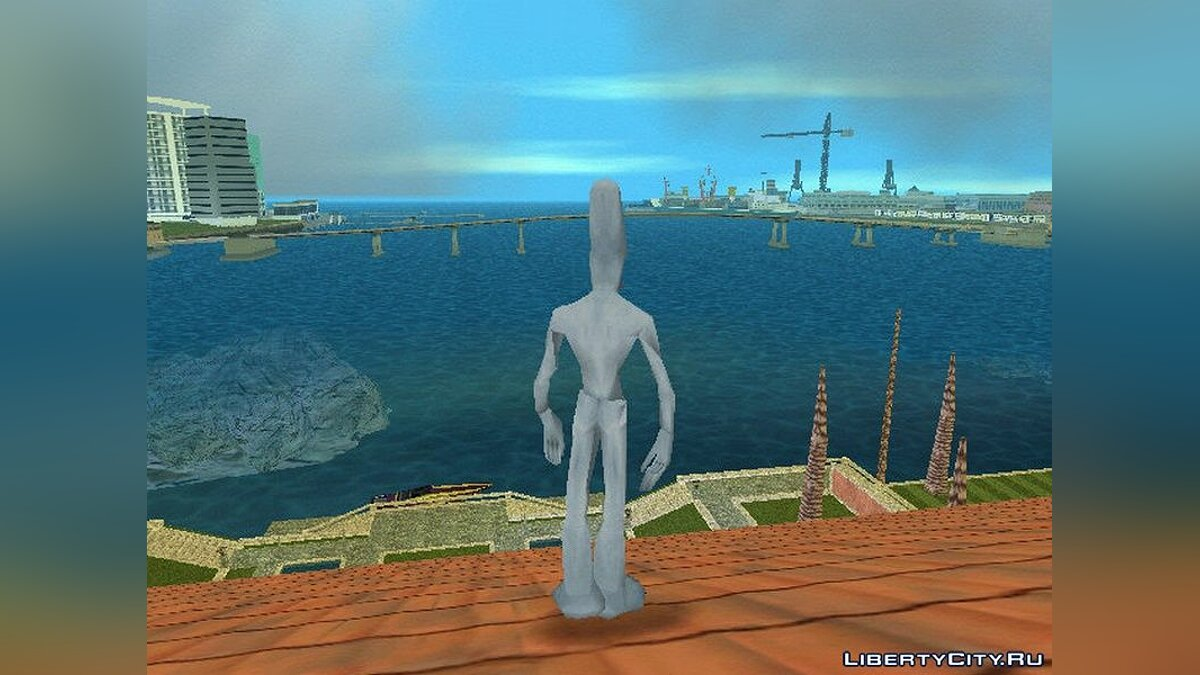 New character Alien version 2.0 for GTA Vice City
