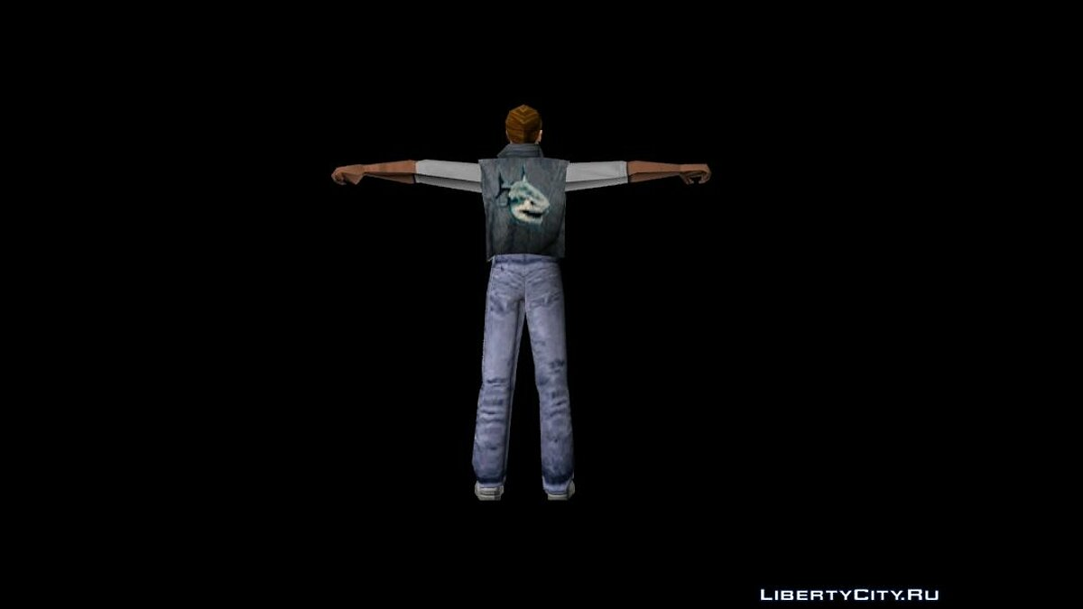 New character Unused Sharks Gang Member for GTA Vice City