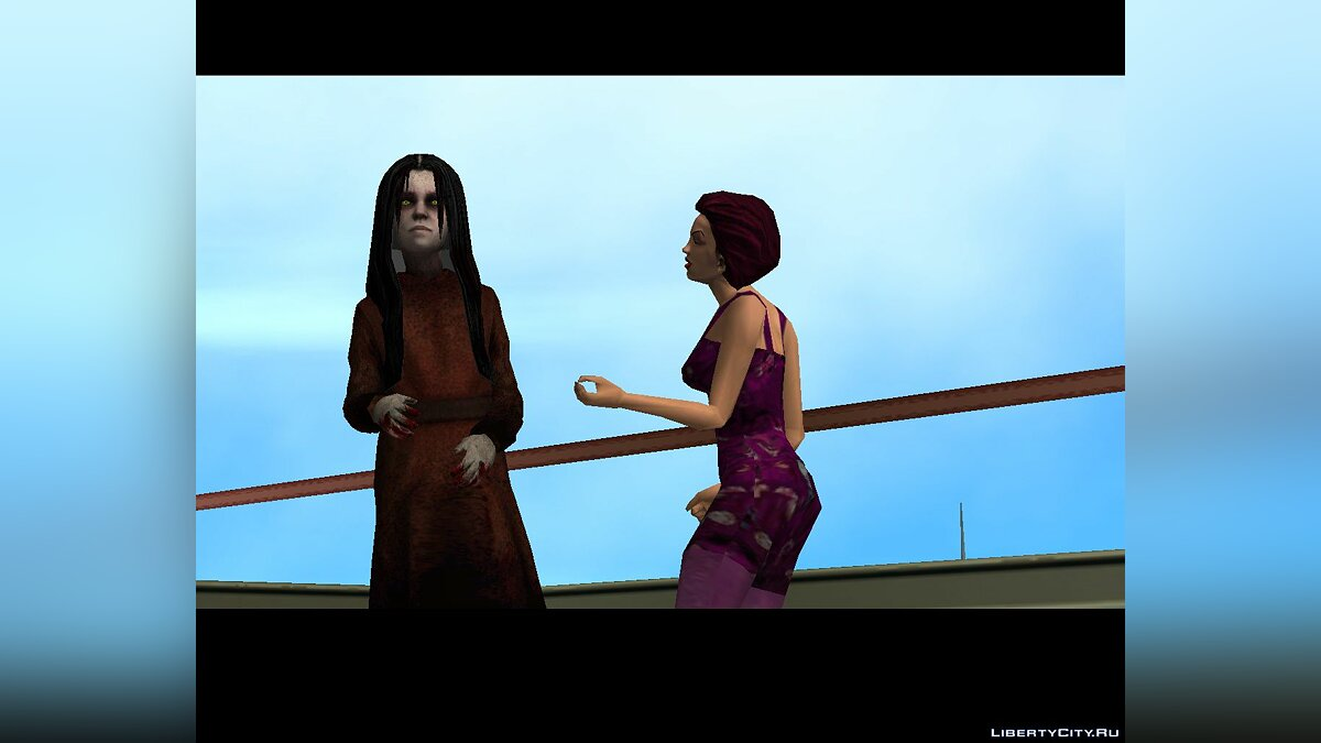 New character Alma Wade from F.E.A.R. for GTA Vice City