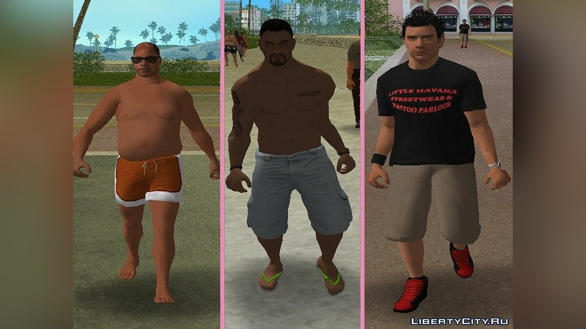 New character New Characters - Compilation of 2 Men for GTA Vice City