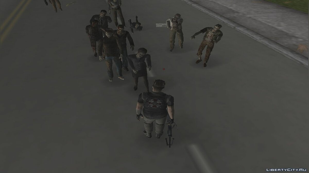 New character Zombies skins from the fashion GTA UBSC for GTA Vice City