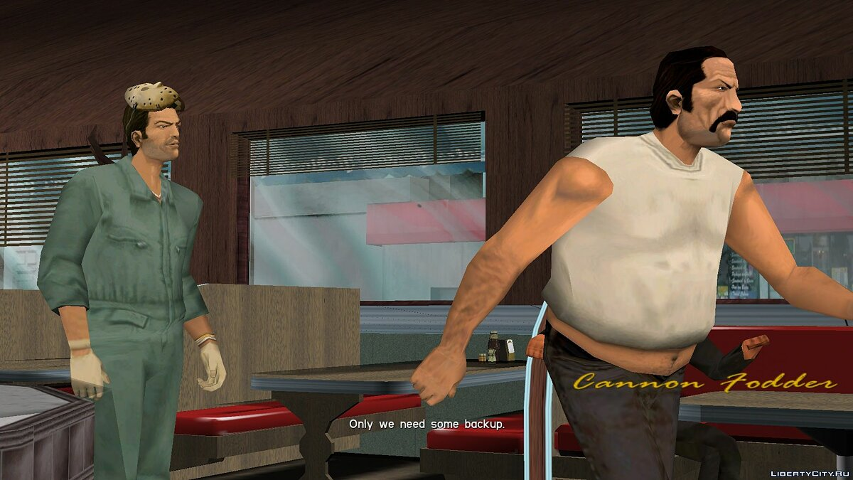 New character Tommy mask for GTA Vice City