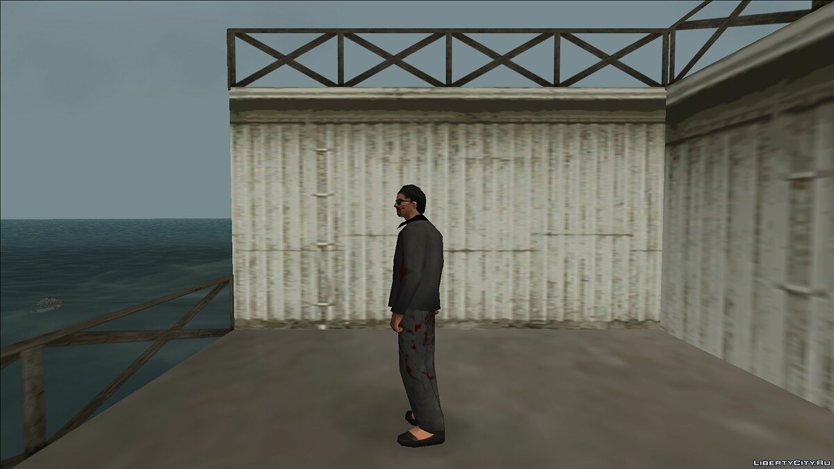 New character Zombie detective 2 for GTA Vice City