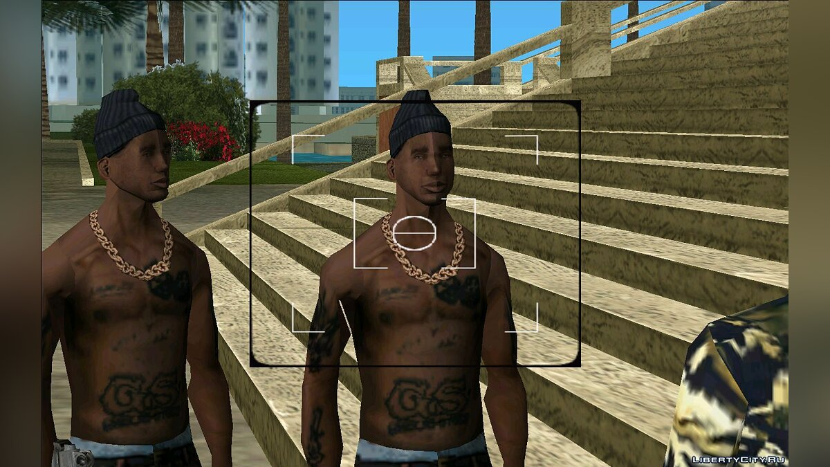 New character OG Loc from San Andreas for GTA Vice City