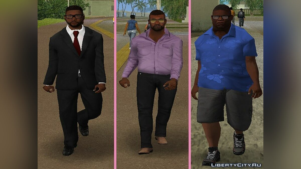 New character New Characters - Collection 1 Men for GTA Vice City