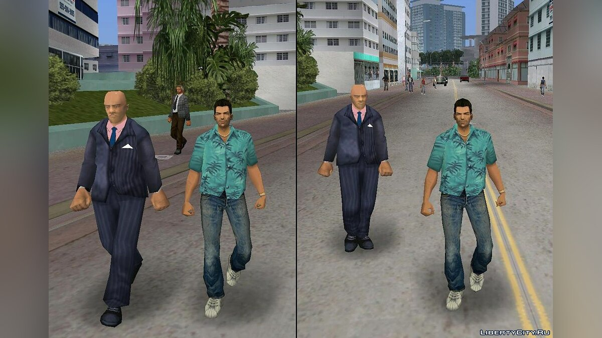 New character Unknown Dead Skin for GTA Vice City