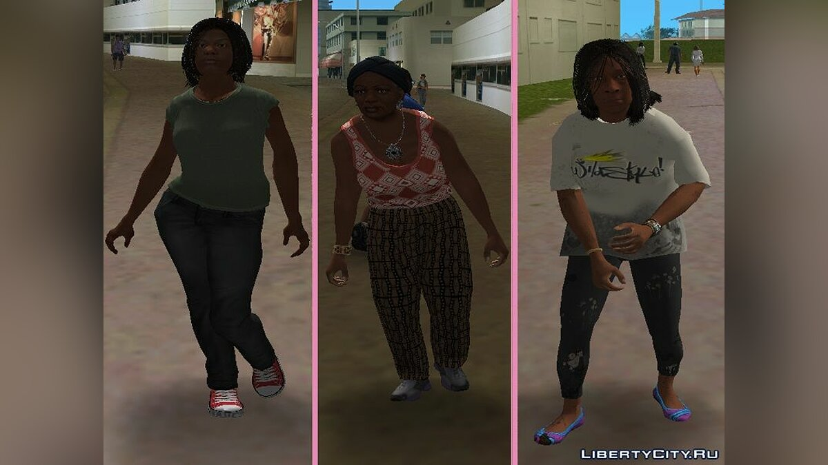 New character New Characters - Women Compilation # 1 for GTA Vice City