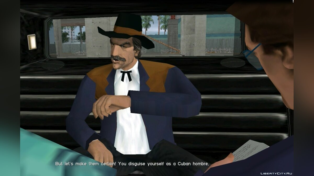 New character Donald with notepad for GTA Vice City