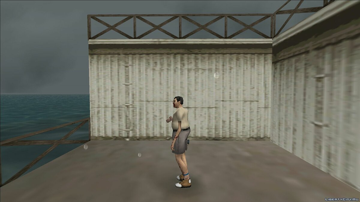 New character Zombie man for GTA Vice City