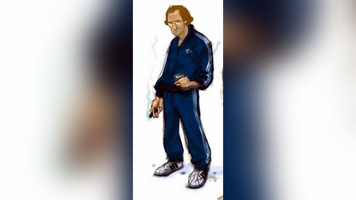 New character Ken Rosenberg in a tracksuit for GTA Vice City