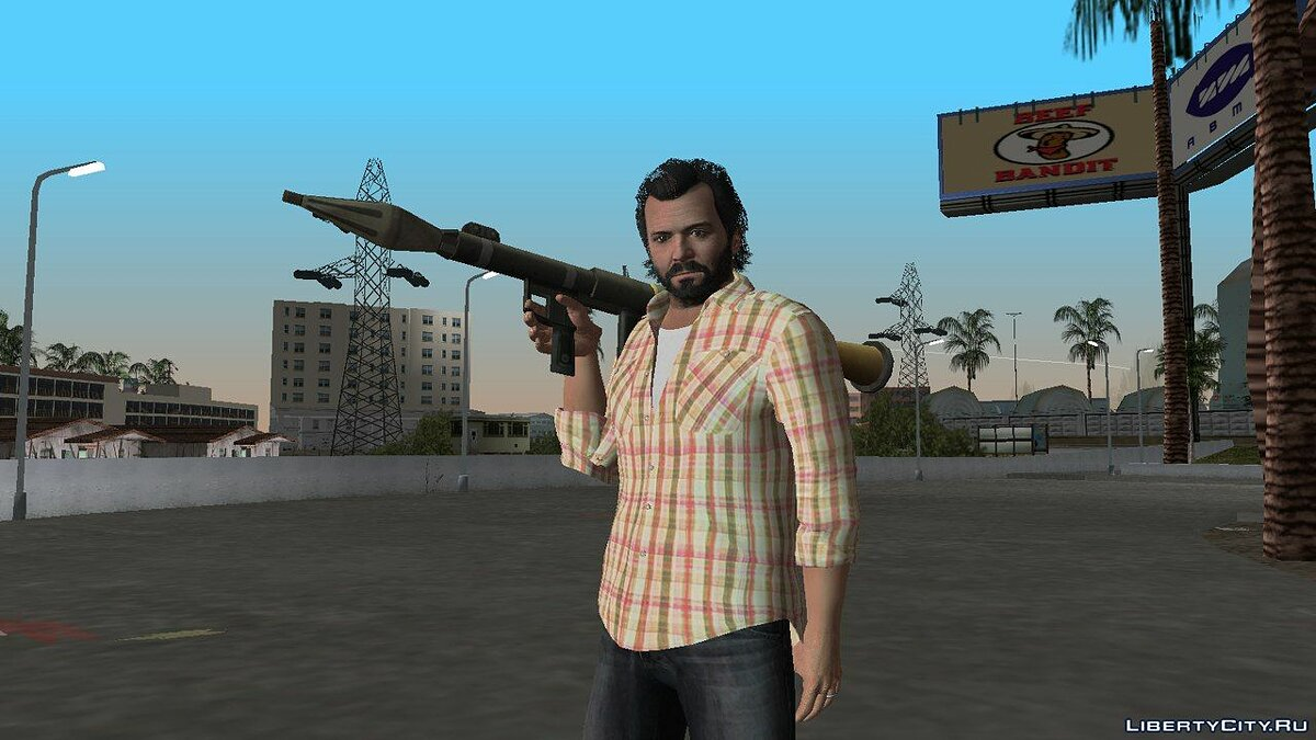 New character Michael De Santa v2 for GTA Vice City
