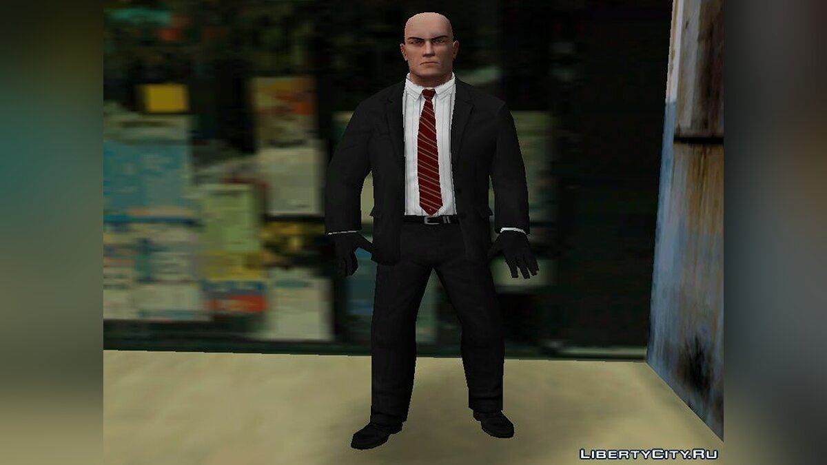 New character Hitman for GTA Vice City