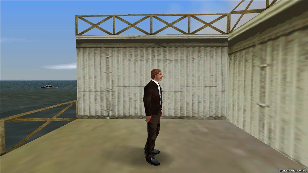 New character Zombie detective 6 for GTA Vice City