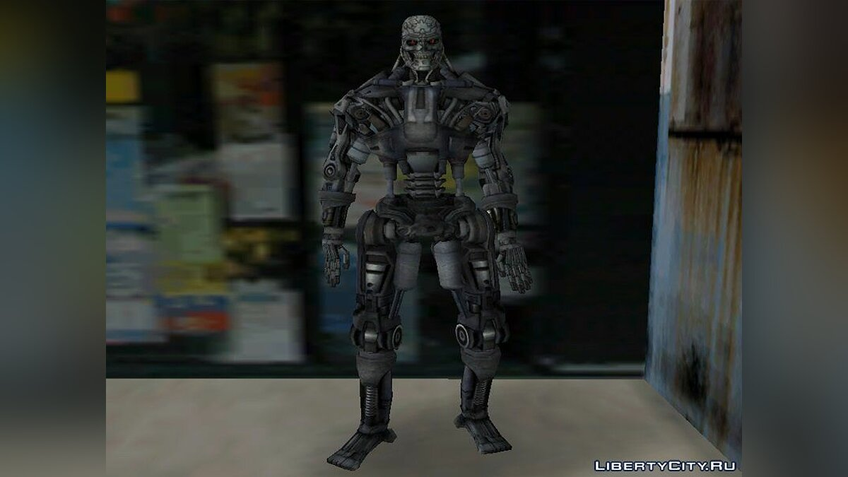 New character T-600 for GTA Vice City