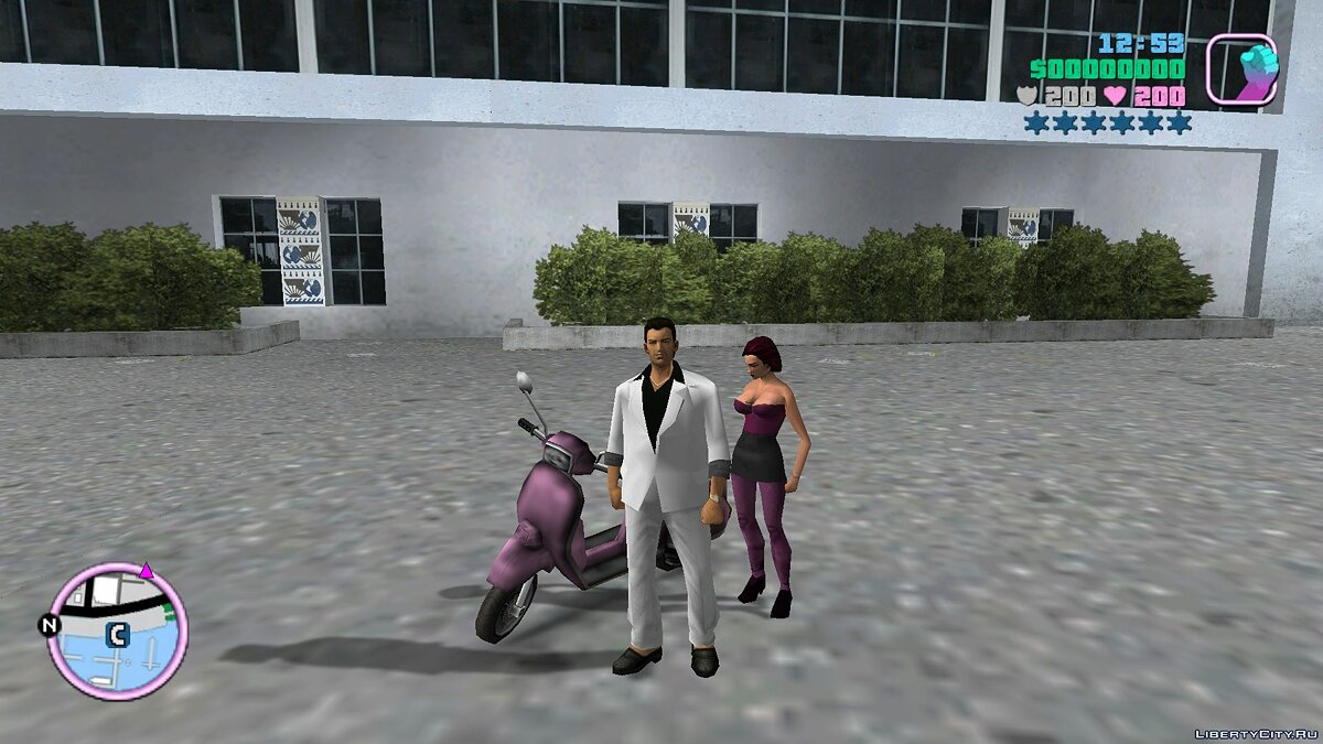New character Mercedes in a more explicit form for GTA Vice City