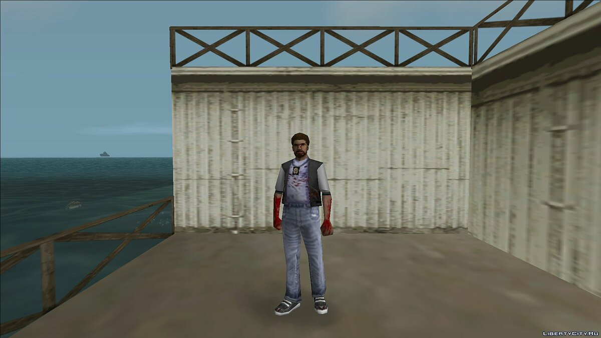 New character Zombie detective 3 for GTA Vice City