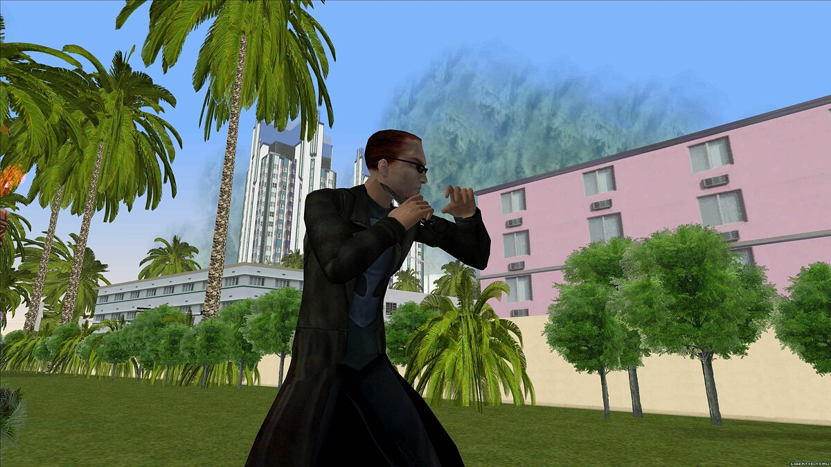 Dude from Postal 2 for GTA Vice City - screenshot #2