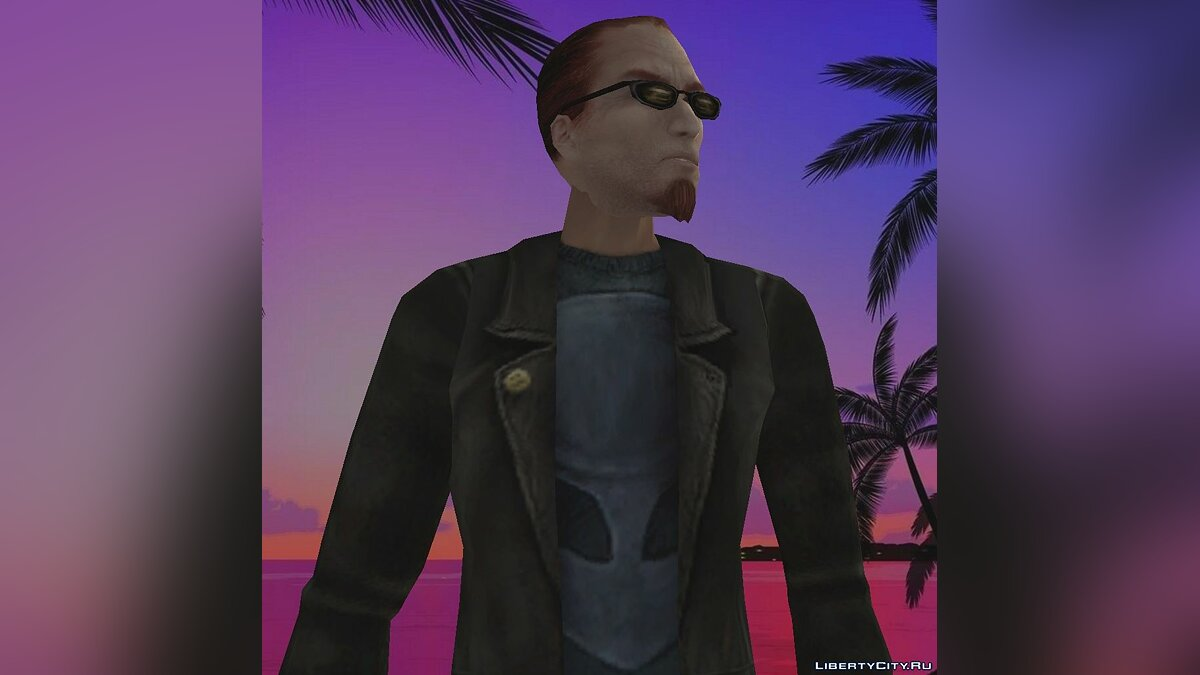 Dude from Postal 2 for GTA Vice City
