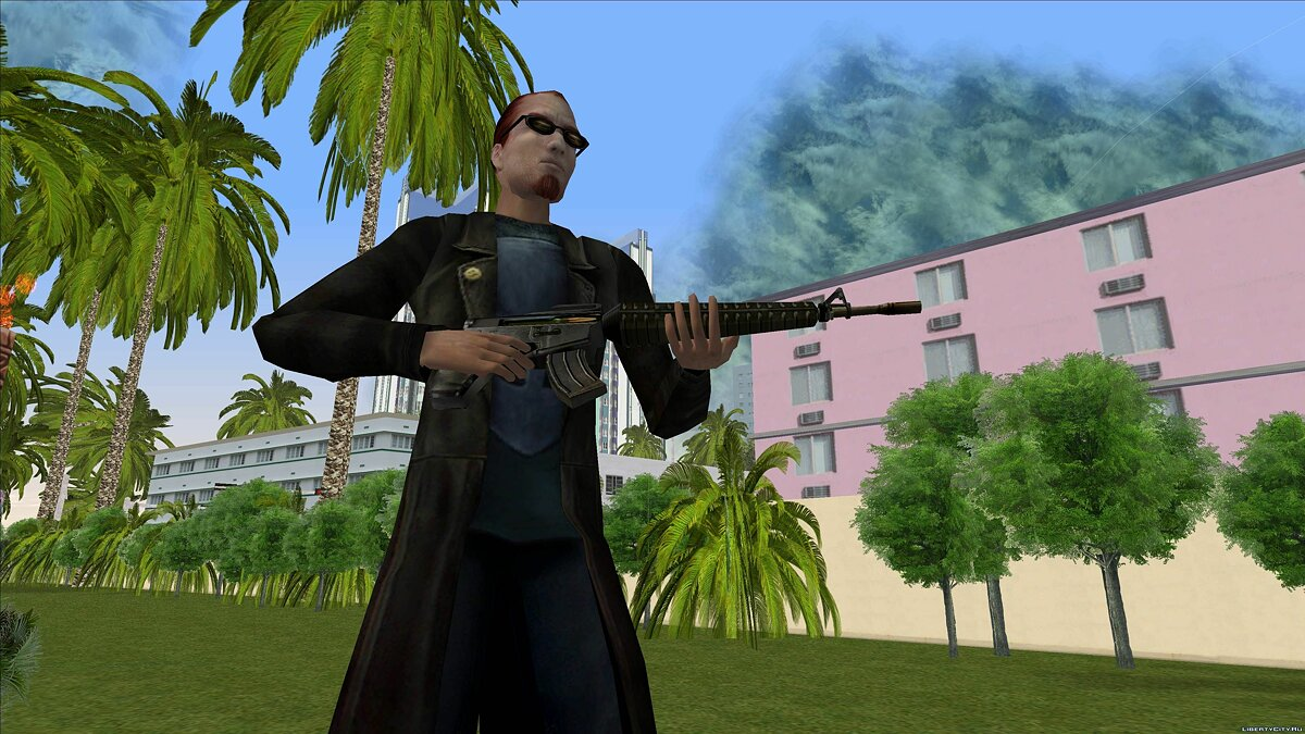 Dude from Postal 2 for GTA Vice City - screenshot #4
