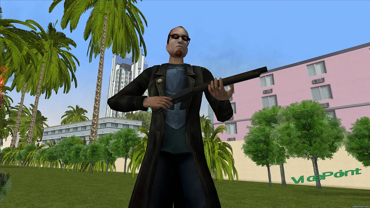 Dude from Postal 2 for GTA Vice City - screenshot #5