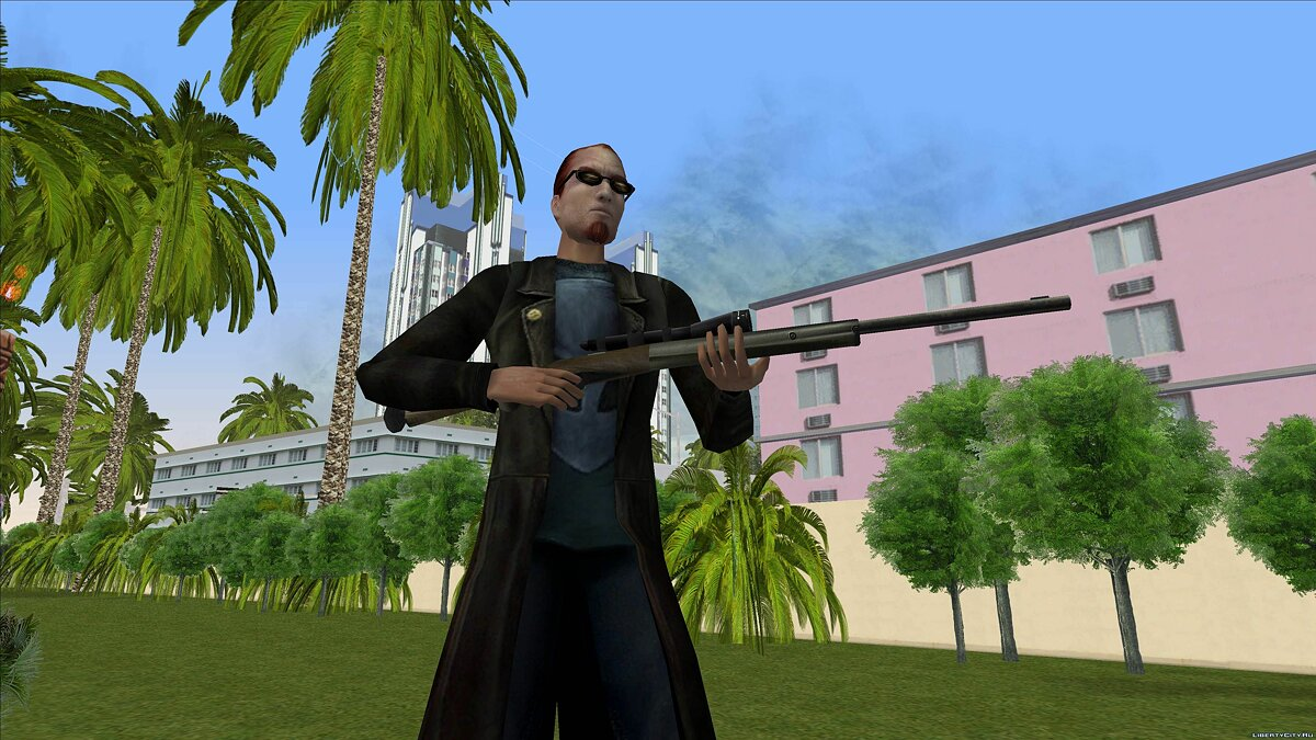 Dude from Postal 2 for GTA Vice City - screenshot #6