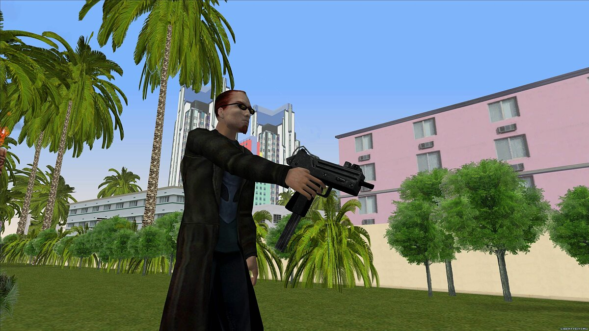 Dude from Postal 2 for GTA Vice City - screenshot #7