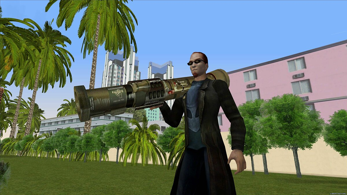 Dude from Postal 2 for GTA Vice City - screenshot #8