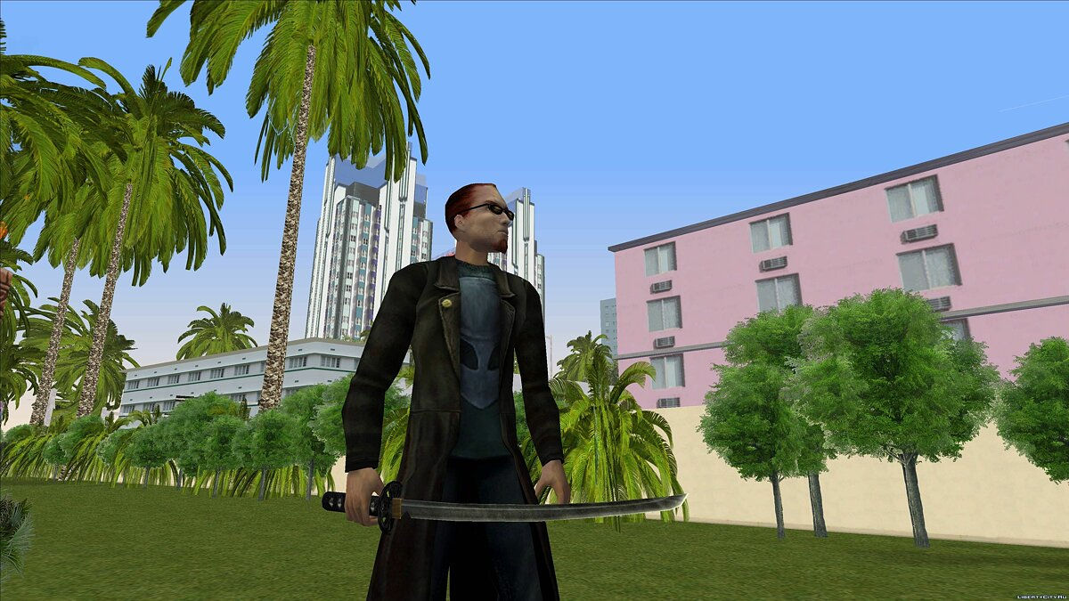 Dude from Postal 2 for GTA Vice City - screenshot #9