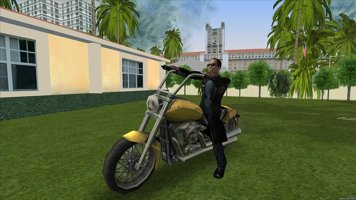 Dude from Postal 2 for GTA Vice City - screenshot #10