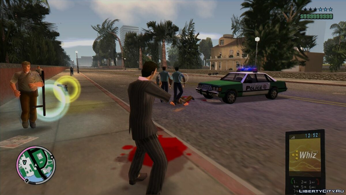 Mod Hood in the style of GTA 4 / EFLC for GTA Vice City