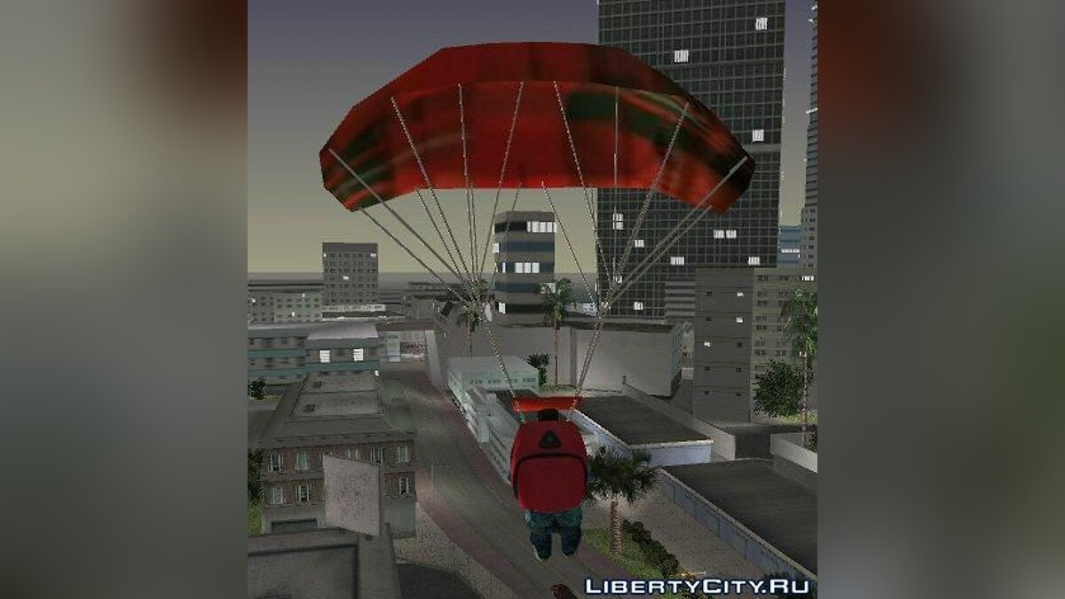 San Andreas parachute for GTA Vice City