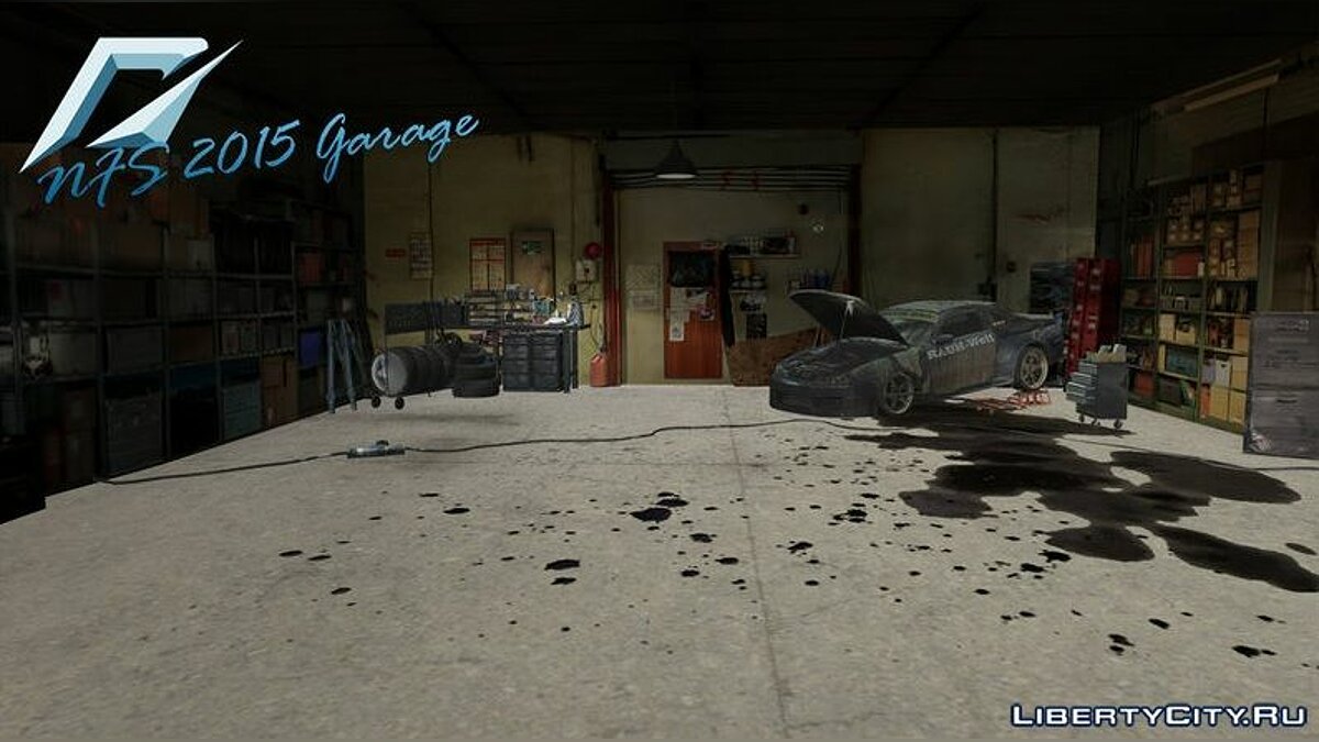 Mod NFS 2015 Garage for GTA Vice City