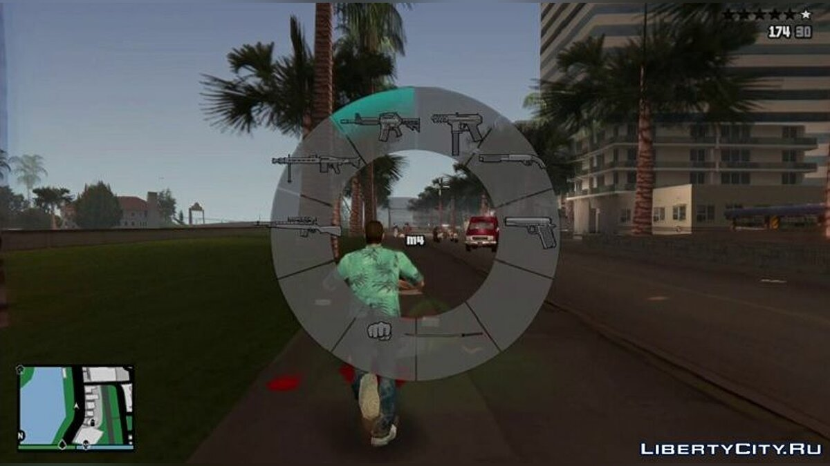 Mod Hood in the style of GTA 5 for Vice City v3.0 for GTA Vice City