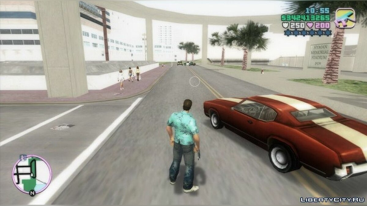 Mod Water and shadow fixes for GTA Vice City