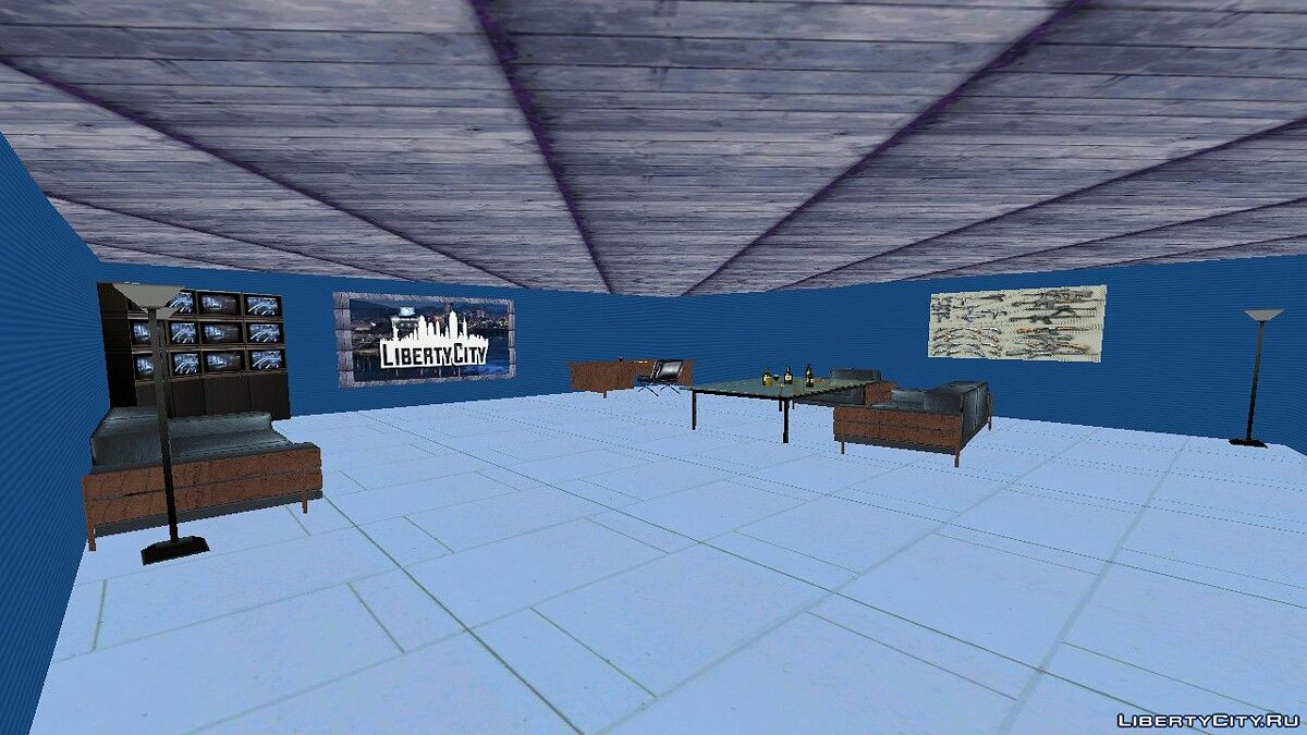 Mod LibertyHouse (For competition) for GTA Vice City